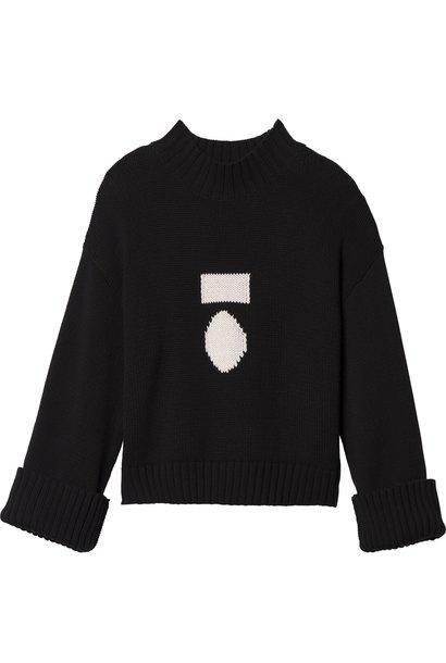 Trui big sweater black