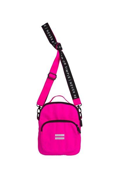 Tas utility bag fluor pink
