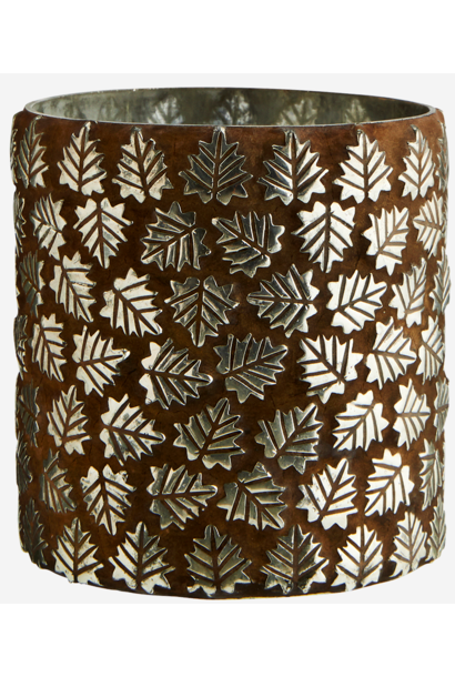 Vaas votive leaf mosaics