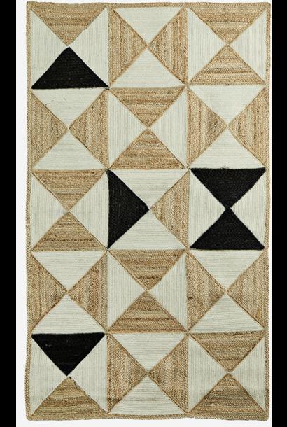 Vloerkleed braided rug 90x150cm