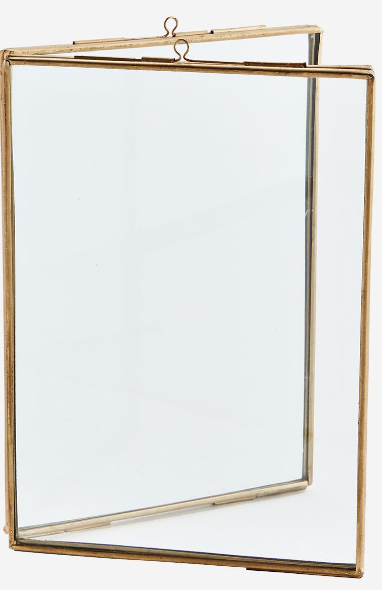 Fotolijst standing double 13x18cm Gold-1