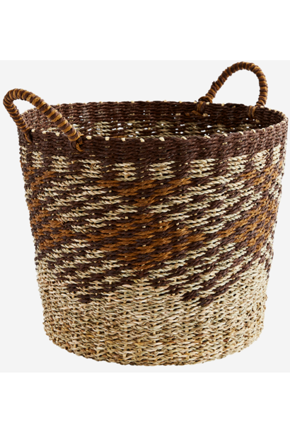 Mand paper rope basket