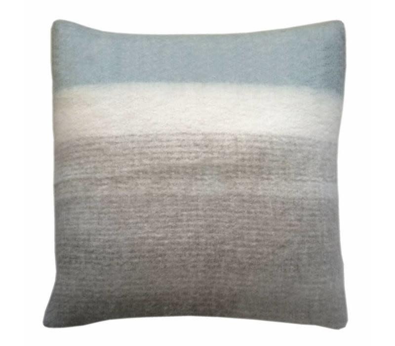 Kussen Light grey mohair cushion-1