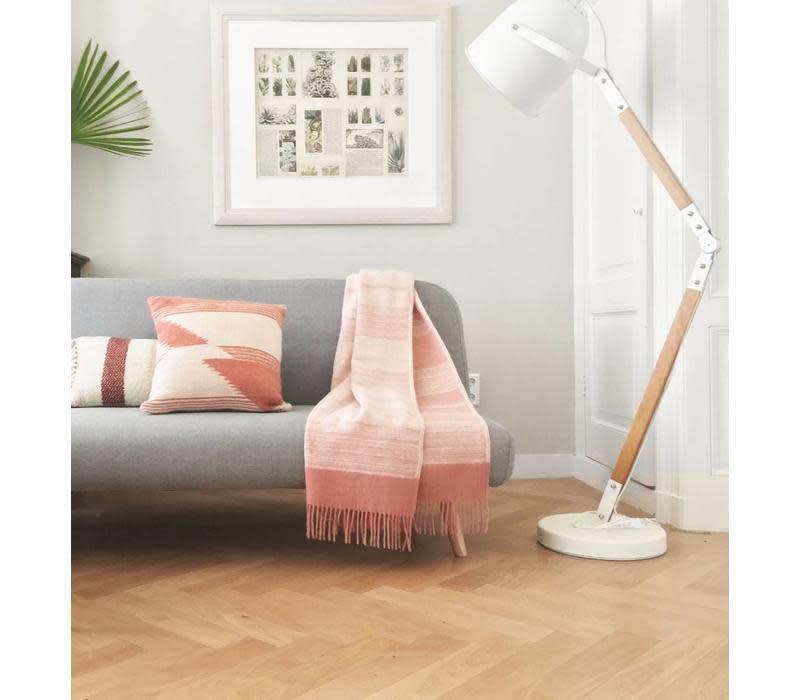 Kussen Nomad mahogany pink cushion-2