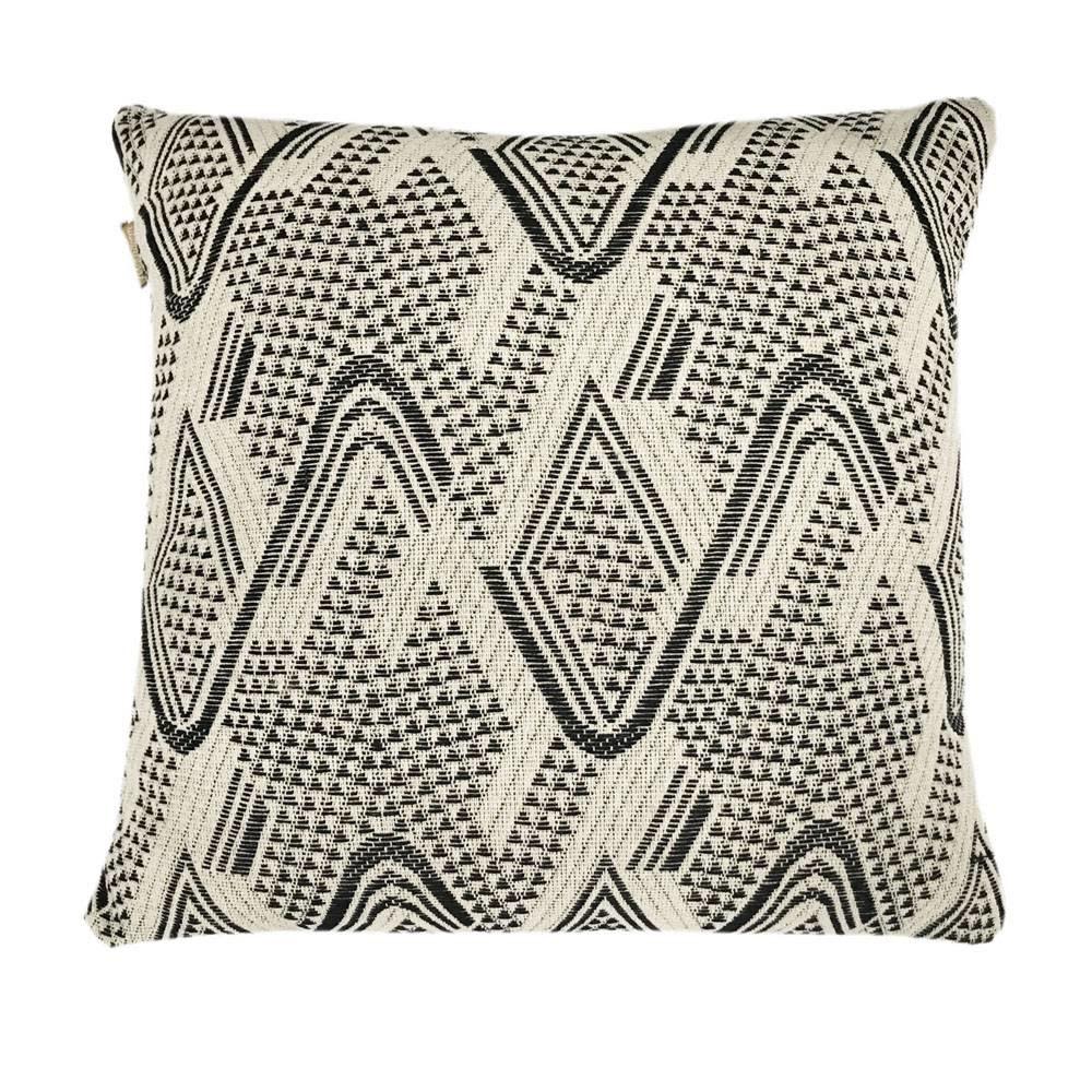 Kussen Raffia cotton offwhite cushion-1