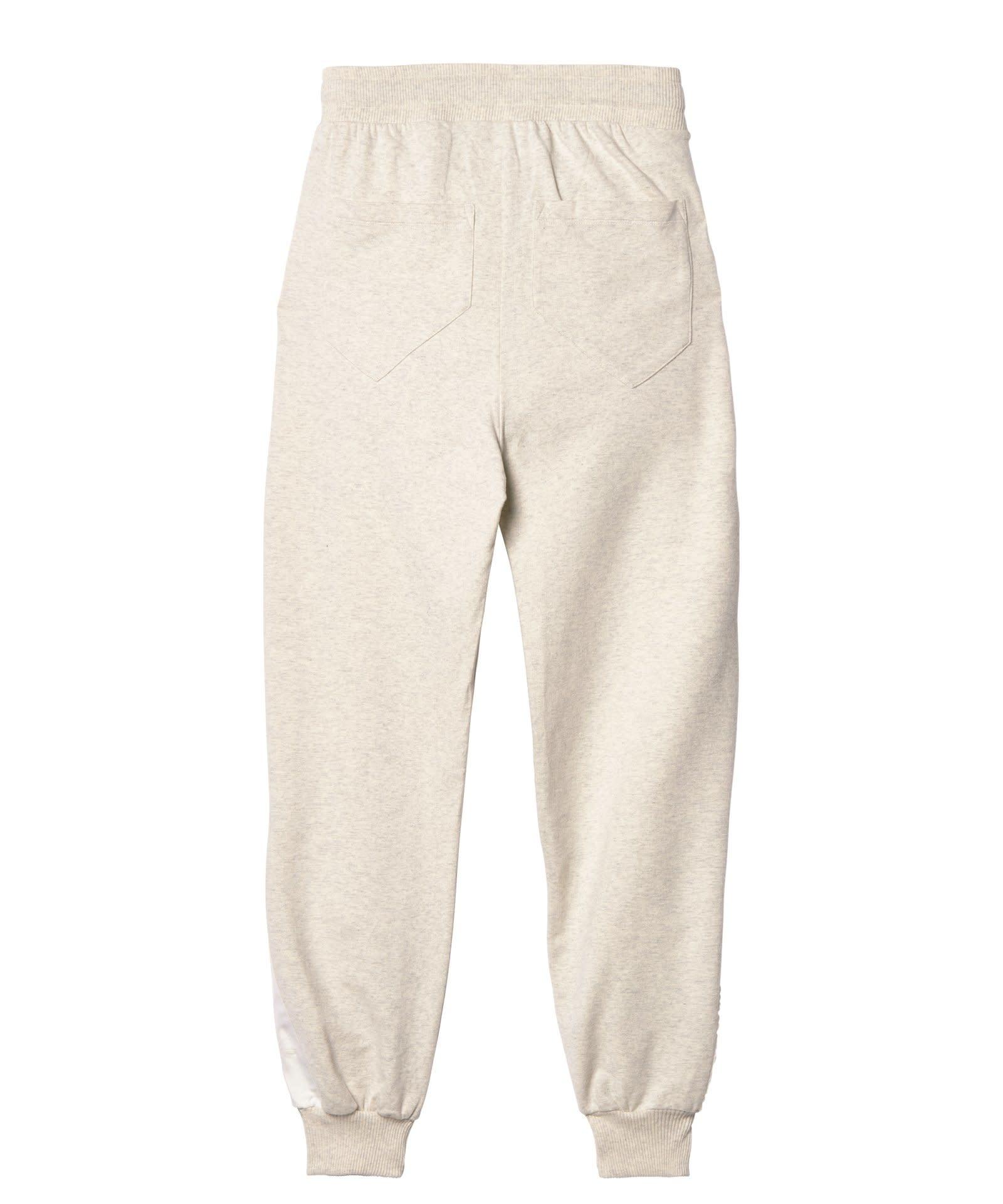 Broek jogger soft white melee-4