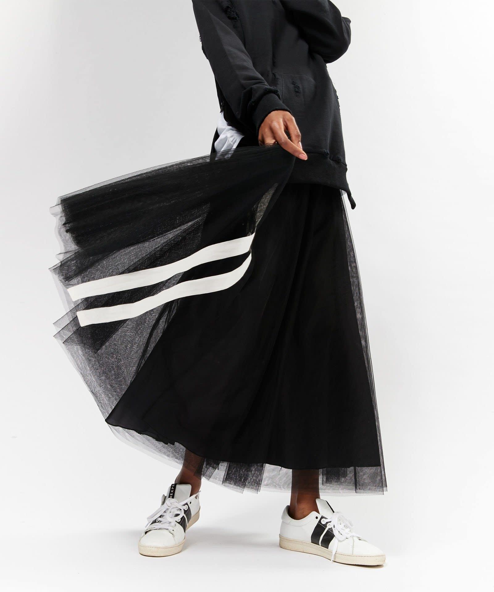 Rok Tulle skirt black-2
