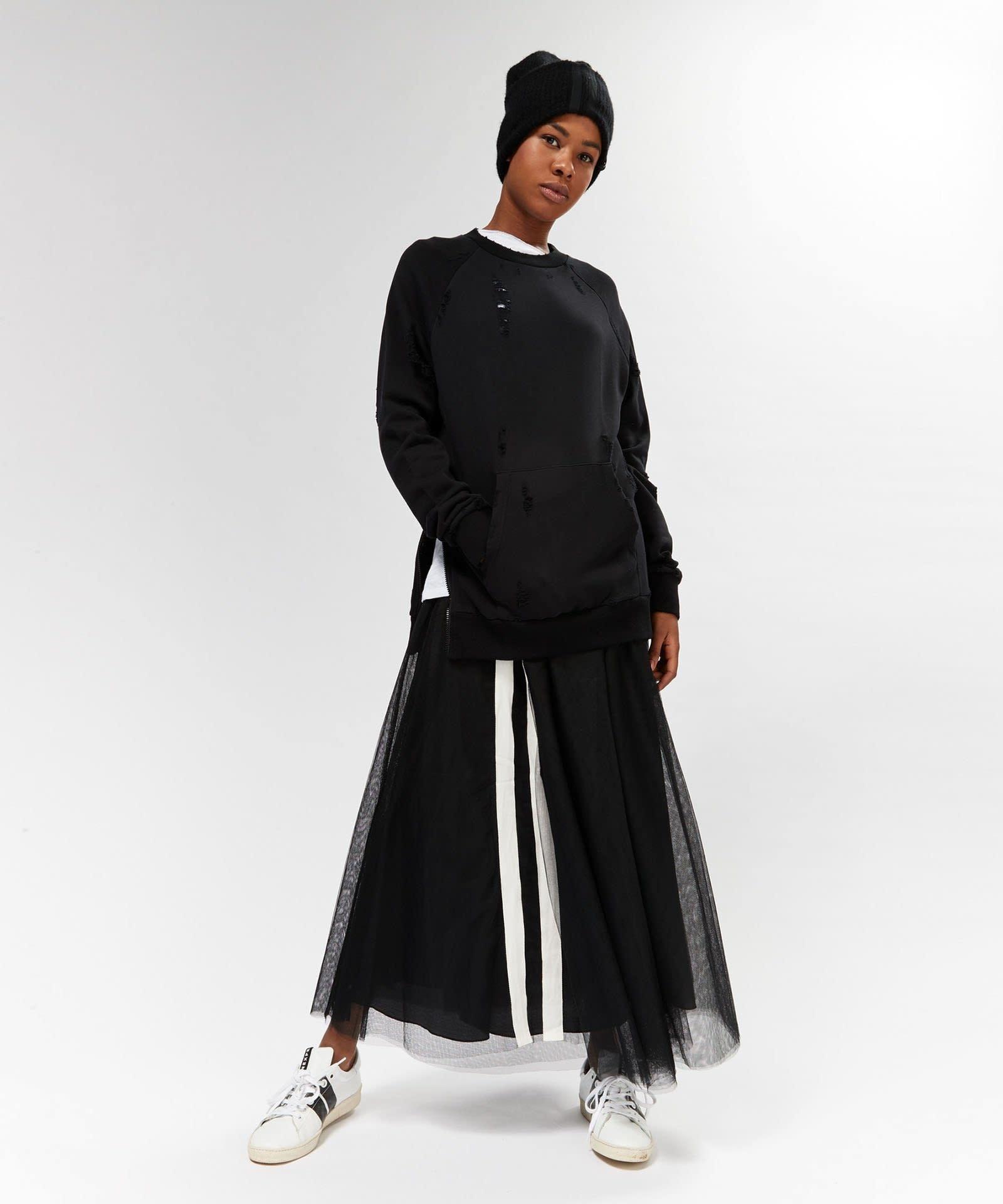 Rok Tulle skirt black-3