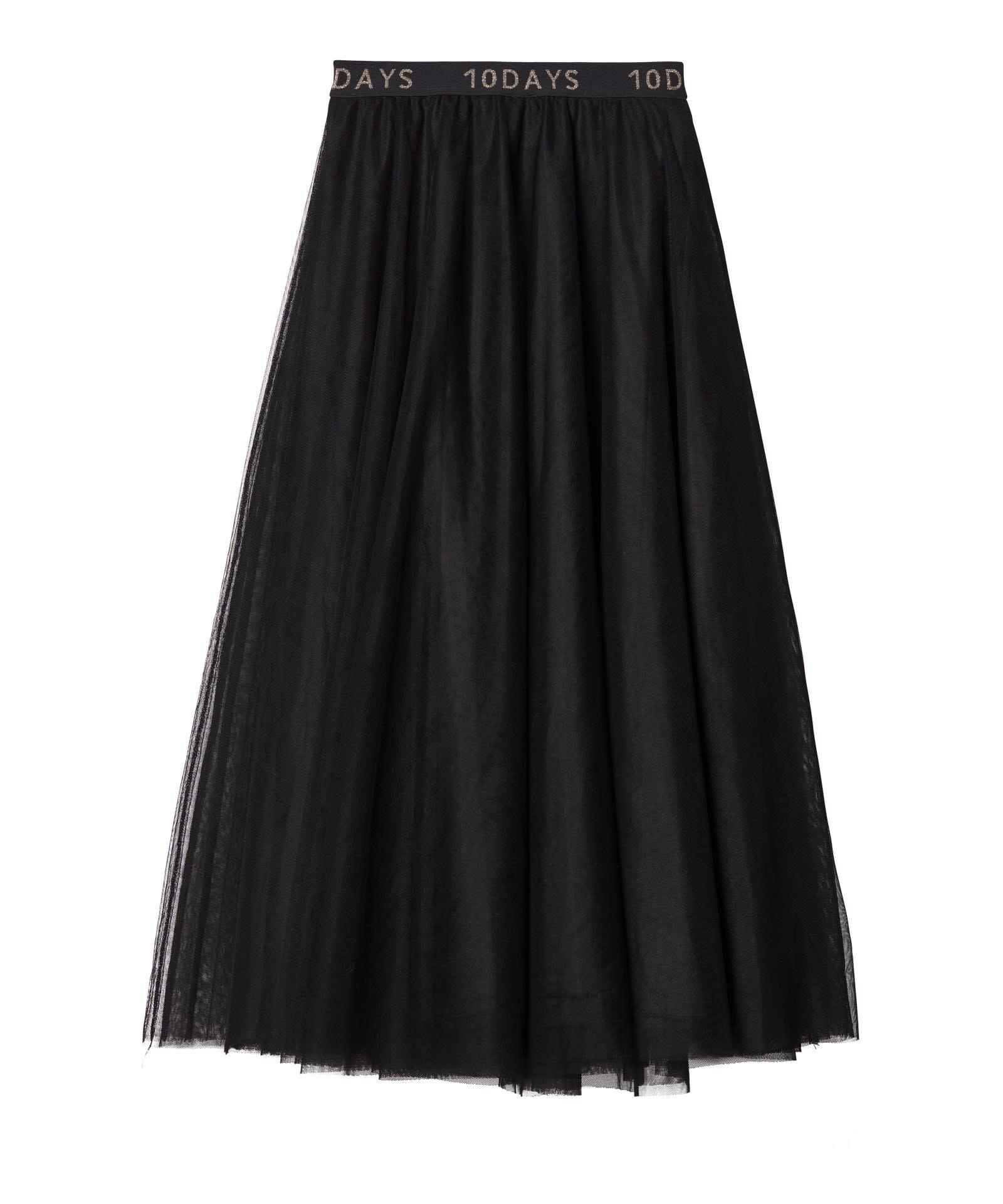 Rok Tulle skirt black-4