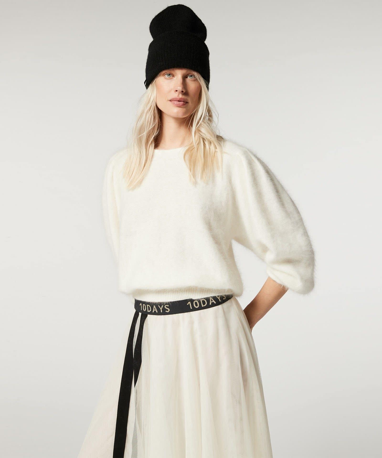 Rok Tulle skirt white-3