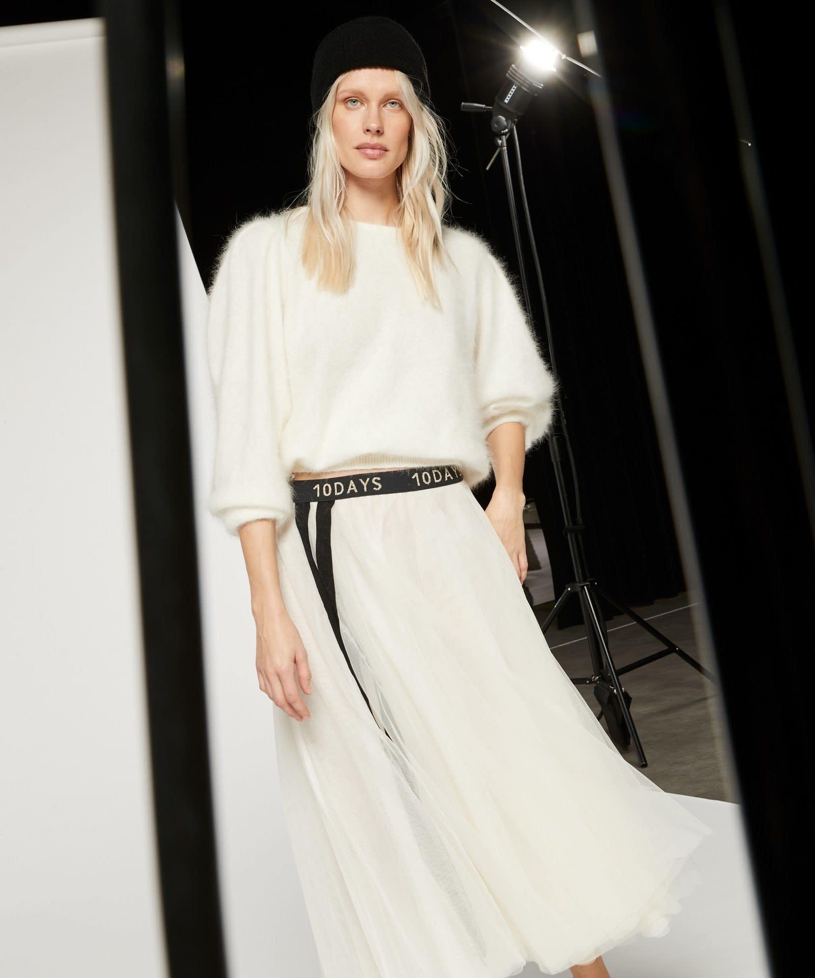 Rok Tulle skirt white-2