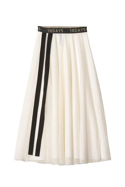 Rok Tulle skirt white