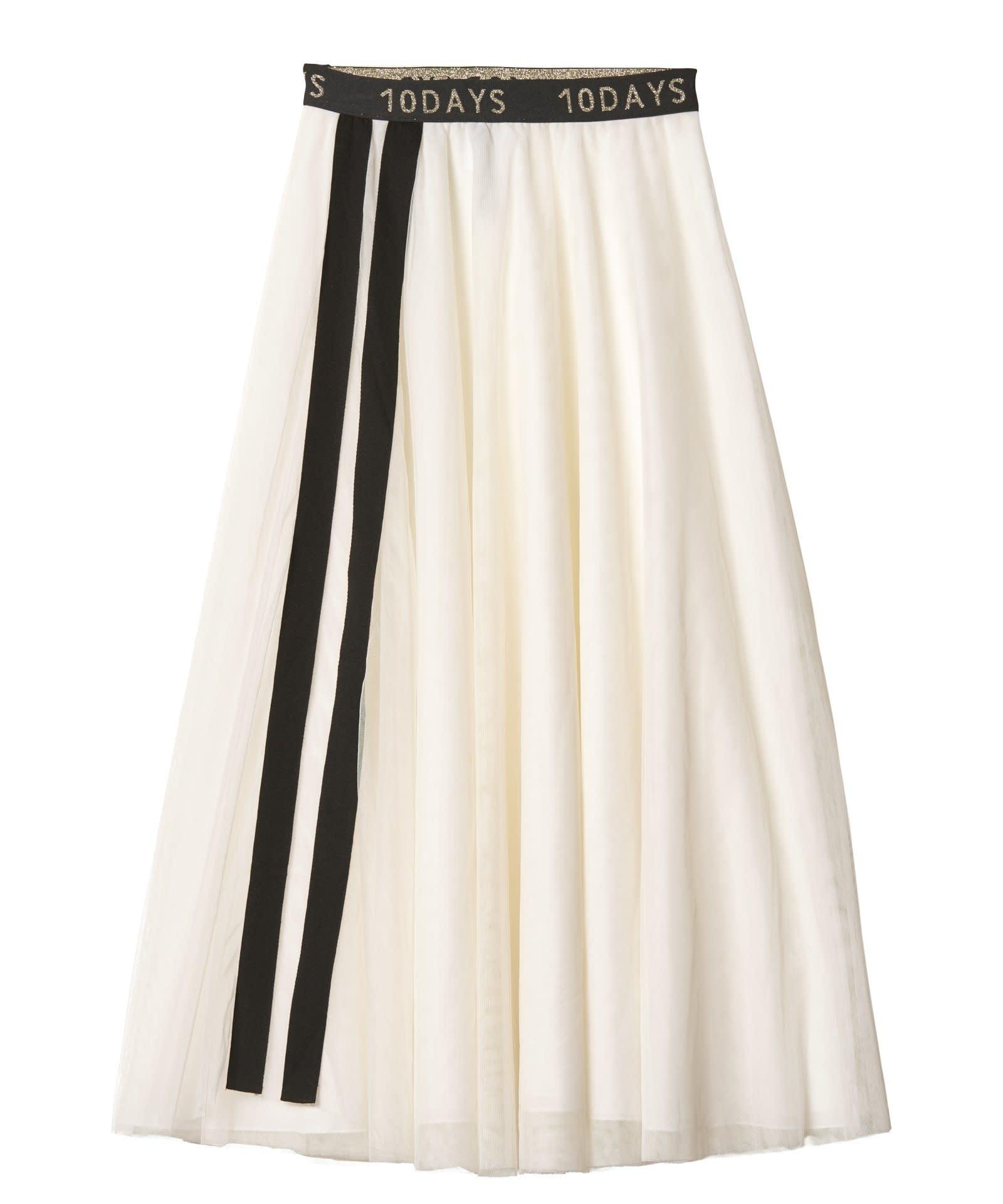 Rok Tulle skirt white-1