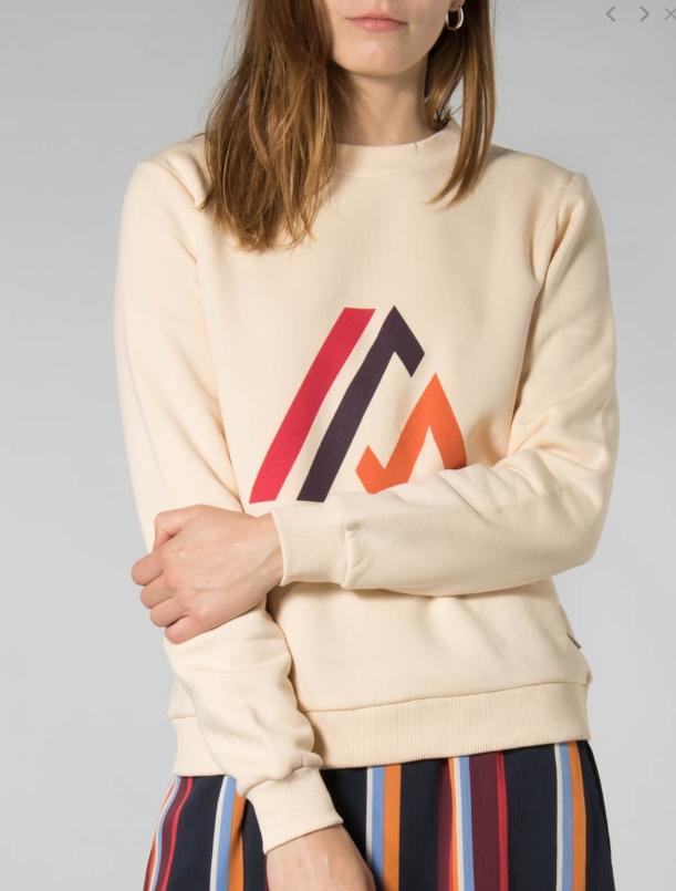 Rok Knapp skirt multi stripe satin-2