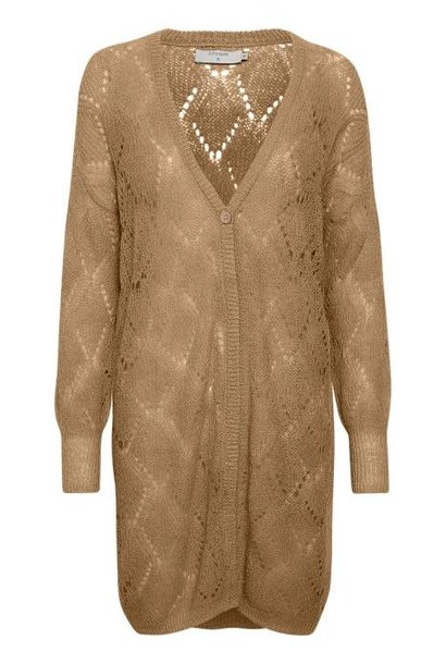 Vest Benedicte knit brown