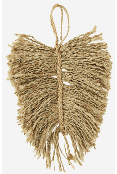 Veer jute leaf 20cm Natural
