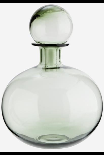 Fles round glass 20x30cm