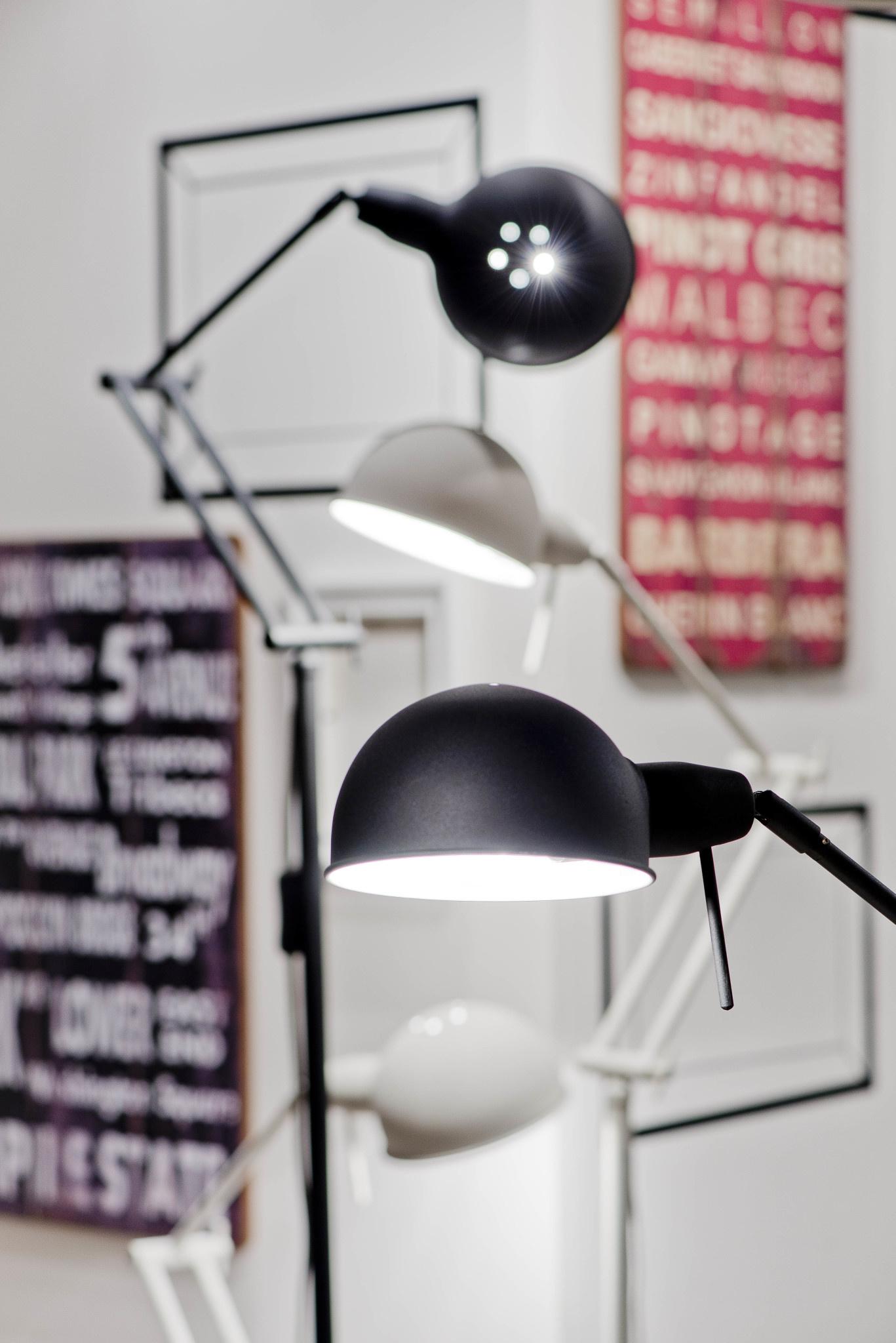 Wandlamp Glasgow/W/B zwart-2