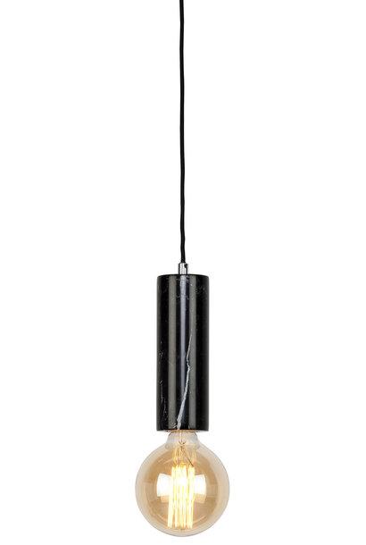 Hanglamp Athens glas marmer Zwart