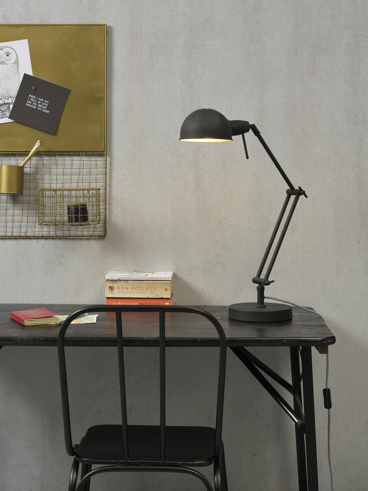 Tafellamp Glasgow ijzer zwart-2