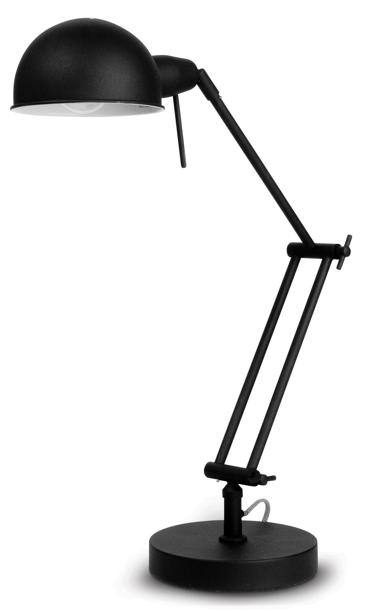 Tafellamp Glasgow ijzer zwart-1
