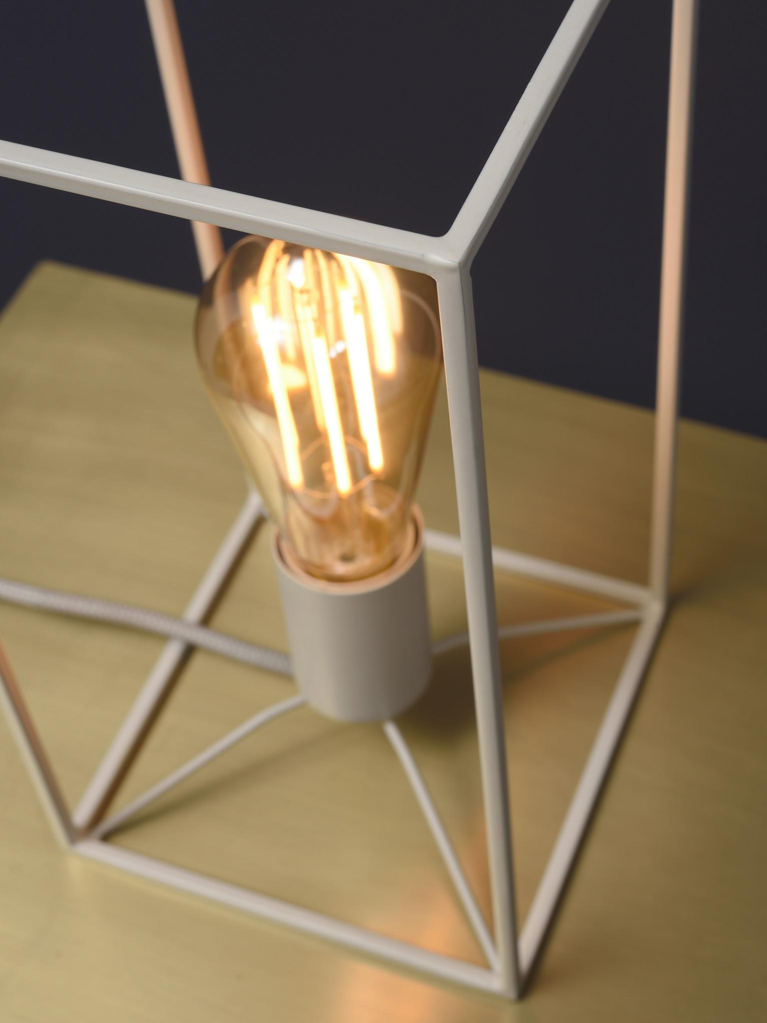 Tafellamp Antwerp rechthoek wit-3