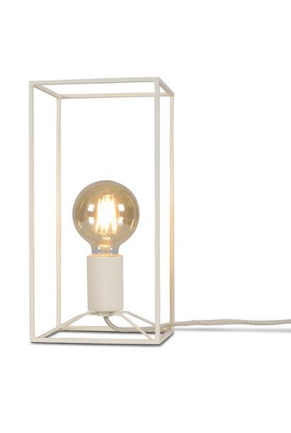 Tafellamp Antwerp rechthoek wit