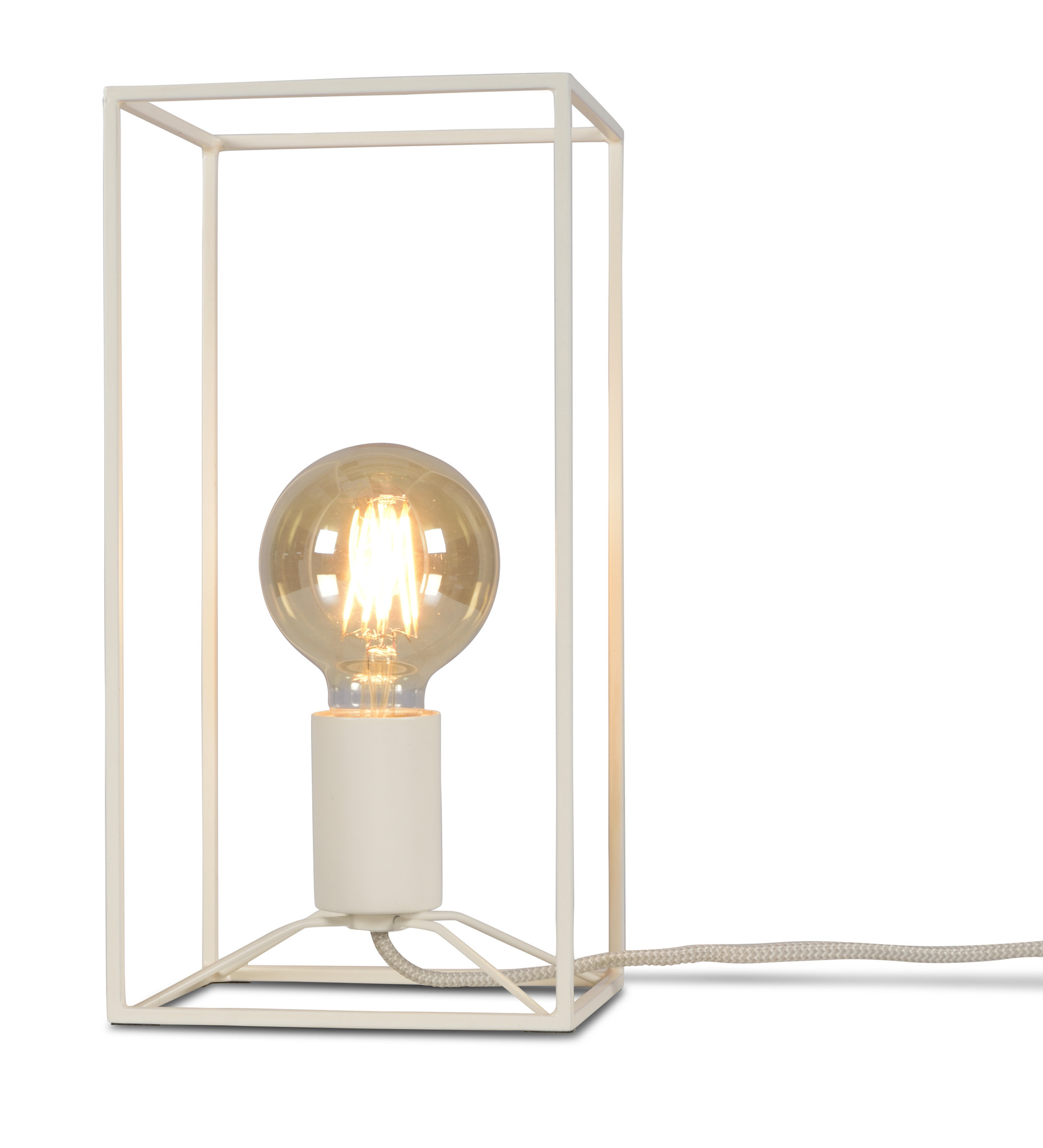 Tafellamp Antwerp rechthoek wit-1