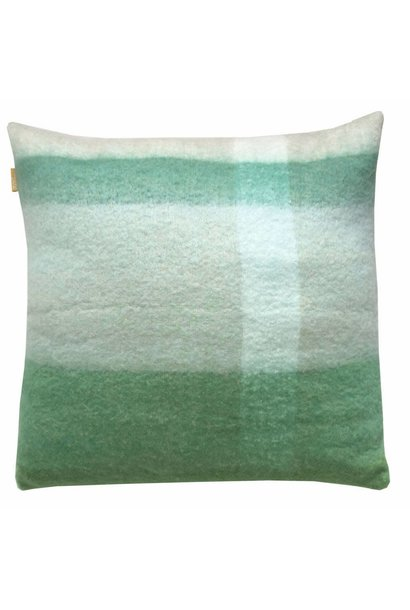Kussen Pea mohair 60x60cm Green