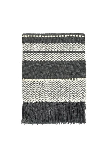 Woondeken Berber 125x150cm Stone Grey