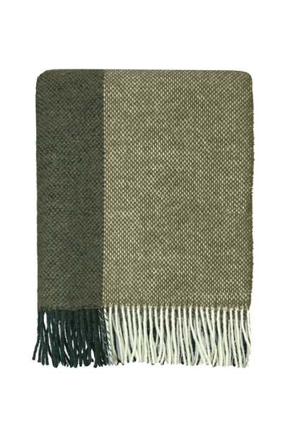 Woondeken Easy nature wool 140x190cm Green