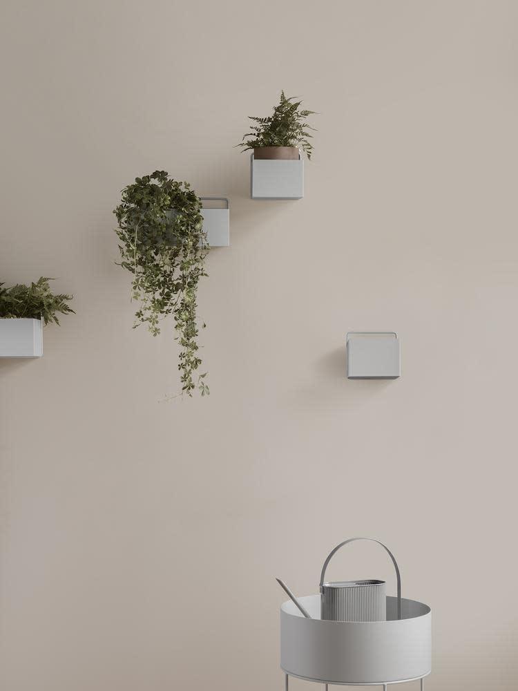 Wall Box Square 16x16x15cm Light Grey-2