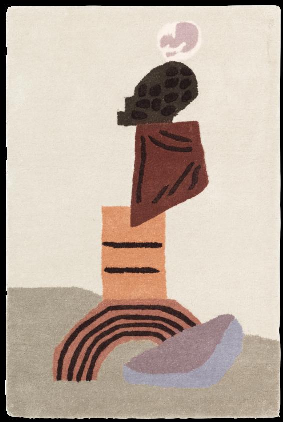 Wandkleed tufted 70x110cm Beige-1