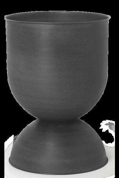 Pot Hourglass Medium Black/D. Grey