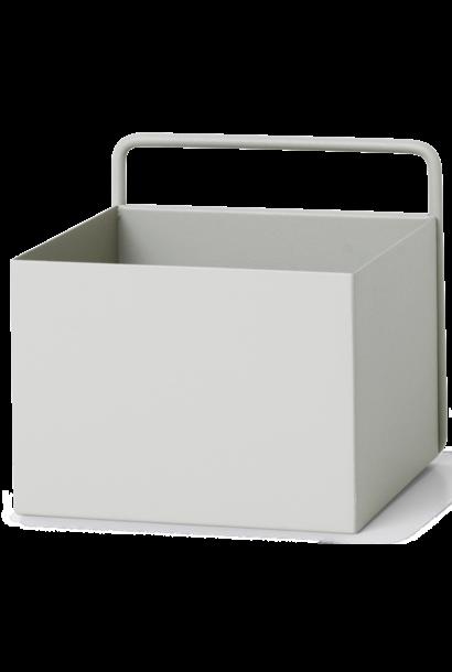 Wall Box Square 16x16x15cm Light Grey