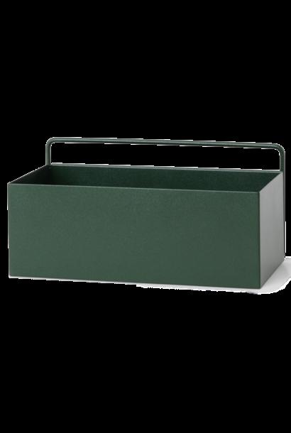 Wall Box Rectangle 31x16x15cm Dark Green