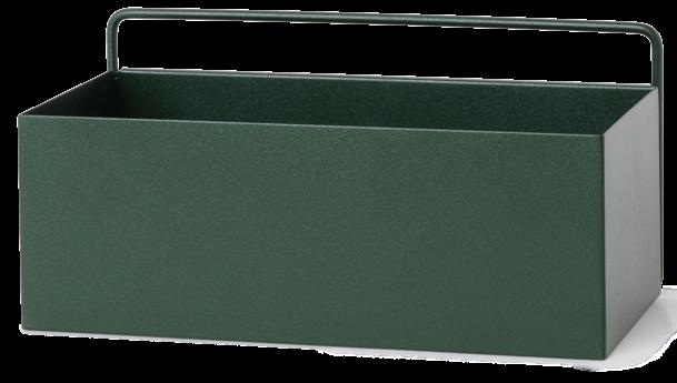 Wall Box Dark Green Rectangle-1
