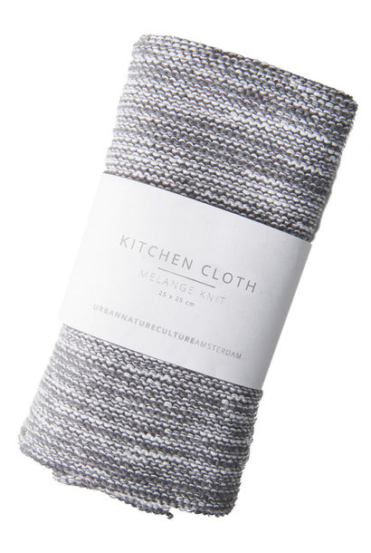 Cleaning cloth melange knit
