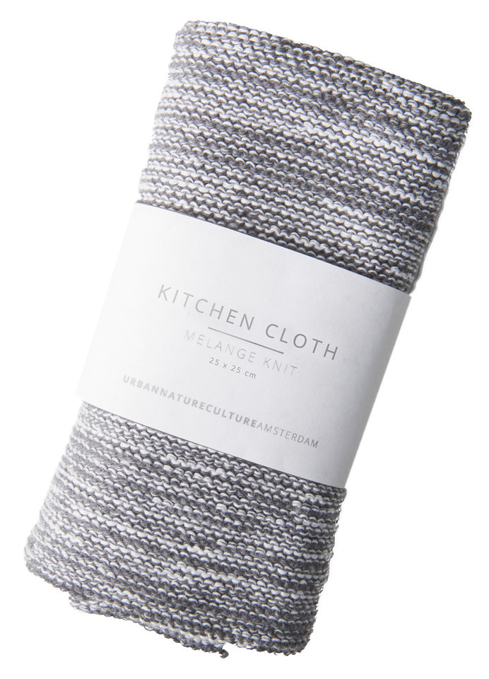 Cleaning cloth melange knit-1