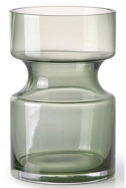 Vaas glass 11x17cm Green