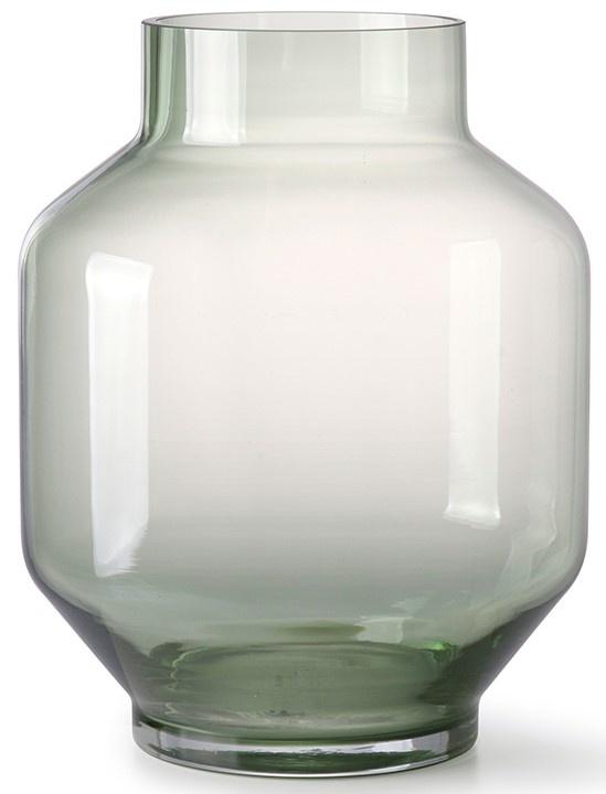 Vaas glass 19x25cm Green-1
