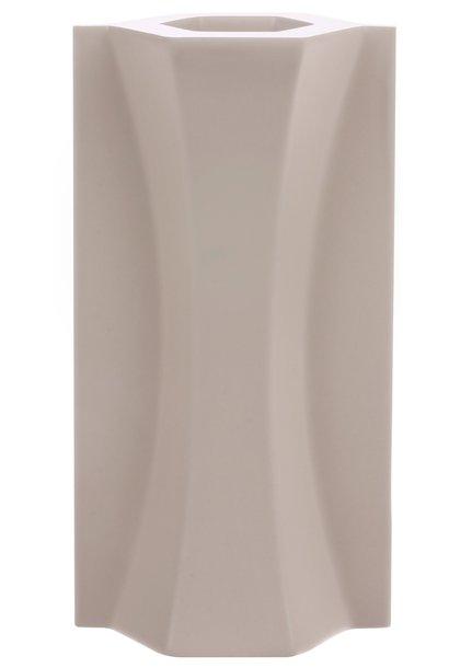 Vaas mold shape flower matt 9x18cm Skin