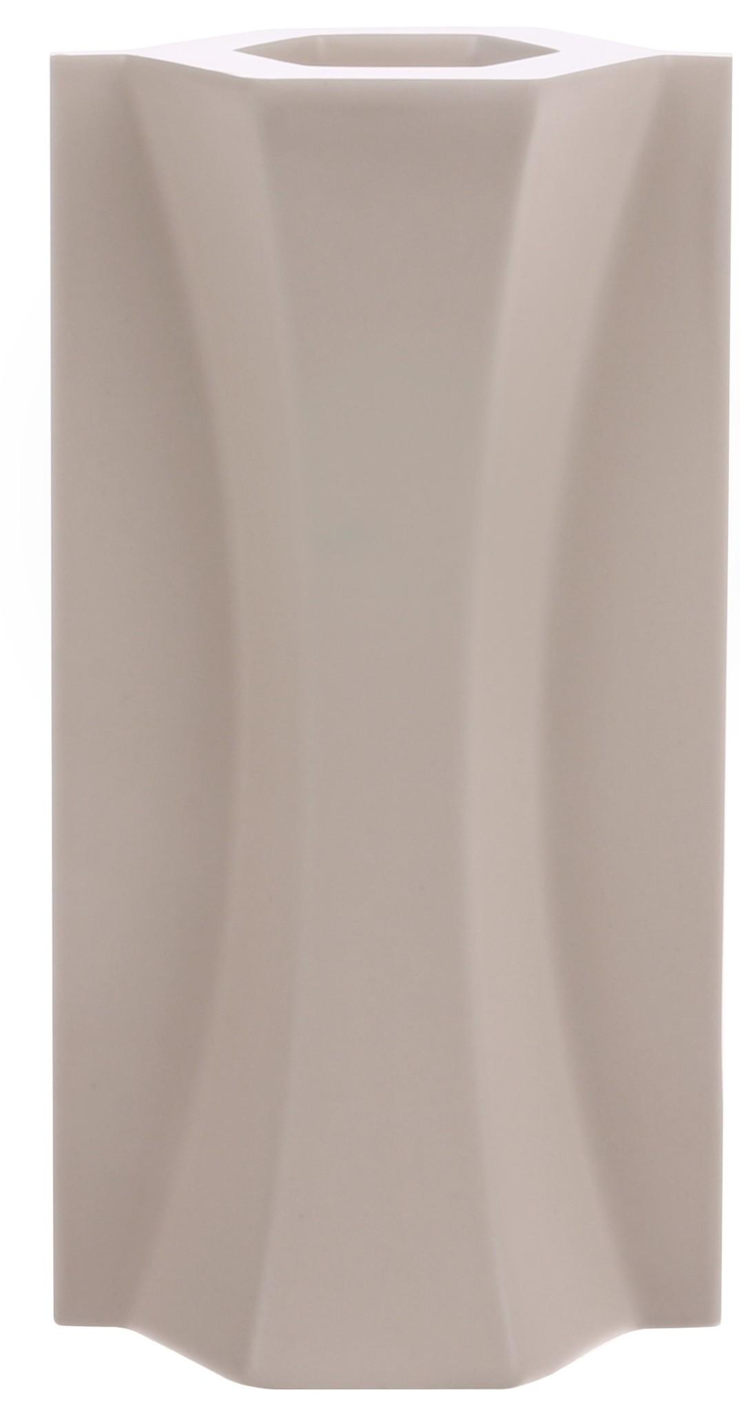 Vaas mold shape flower matt 9x6x18cm Skin-1