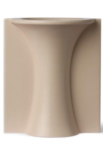 Vaas mold shape flower matt 13x15cm Skin