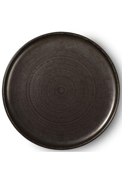 Bord Kyoto ceramics 26x3cm Black