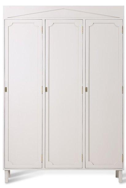 Kast greek cupboard 110x36x160cm Cream showroom