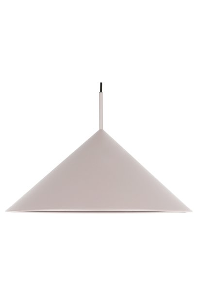 Hanglamp metal triangle pendant l matt 60x39cm Grey
