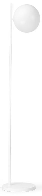 Vloerlamp metal ball shade matt 25x137cm White-3