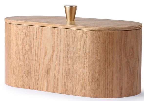 Box willow wooden 23x11x10cm Natural-1