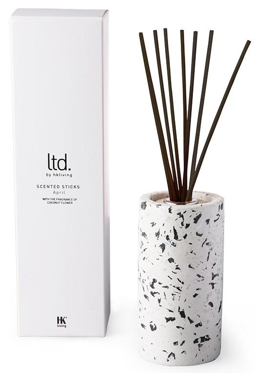 Geursticks terrazzo scented sticks White-3
